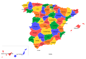 Permalink to:Provinces of Spain