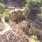 HELICOPTER RESCUES GUARDAMAR CYCLIST