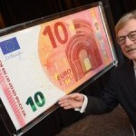 NEW 10 EURO NOTE PRESENTED