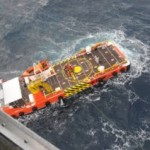 RESCUE SHIP CREW SAVED FROM SINKING