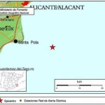 EARTHQUAKE OFF SANTA POLA COAST