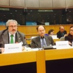 Orihuela mayor, Monserrate Guillen, appeared alongside Councillor Bob Houliston, in front of the European Parliament Committee on Petitions on Tuesday