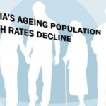 AGEING POPULATION AS BIRTH RATE DECLINES