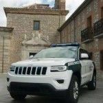 One of the Guardia Civil´s new Jeeps