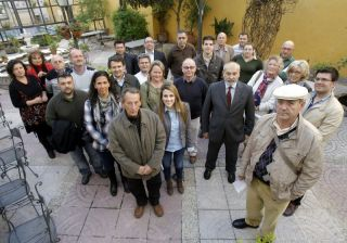 Representatives of SOHA and AUAN meeting with with Spanish home owners associations from across Andalucia