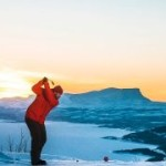 Christmas golf in Lapland
