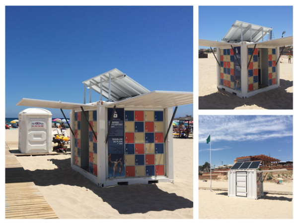 20150625 - Beach Lockers Launched at La Zenia (2)