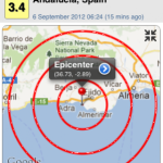 EARTHQUAKE SHAKES ANDALUCIA