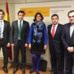 THE MAYOR MEETS THE MINISTER OF TOURISM IN MADRID