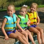 File photo of children in life jackets