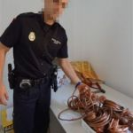 TEN ARRESTS FOR THEFT OF COPPER WIRE